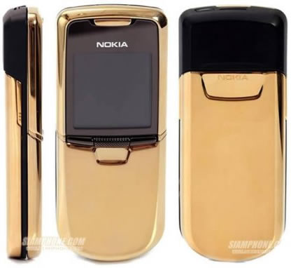 Nokia oro Modelo 8800