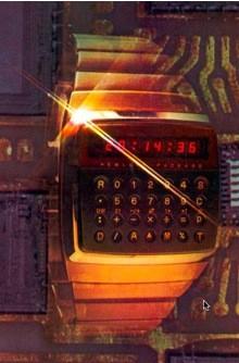 El HP-01, un reloj con calculadora fabricado por Hewlett-Packard en 1977.