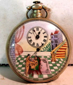 Relojes llenos de erotismo