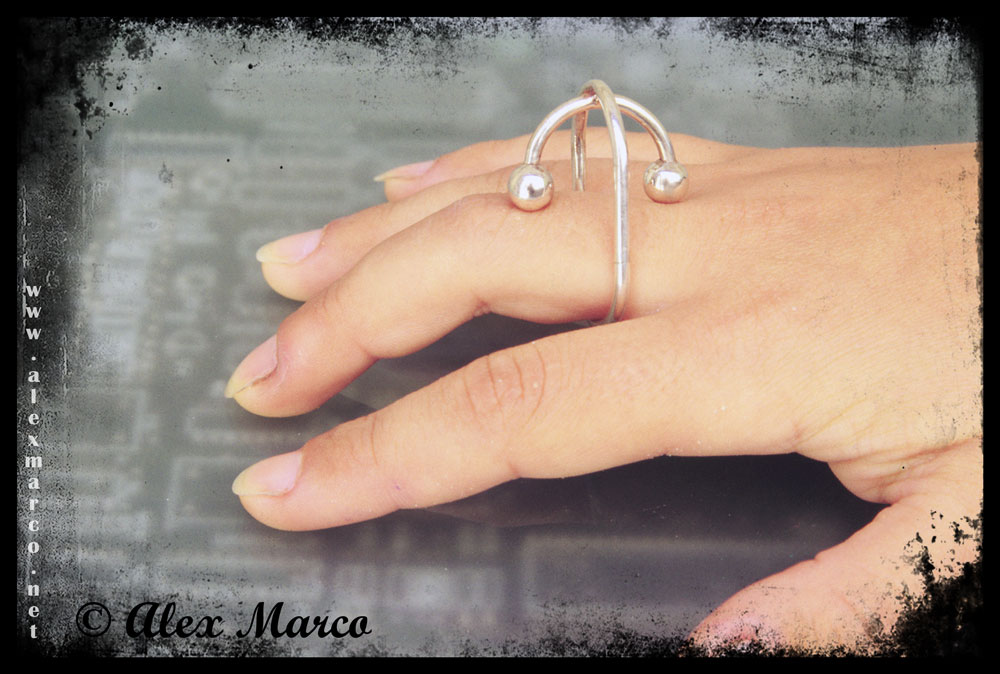 Rings jewellery - Design by Alex Marco