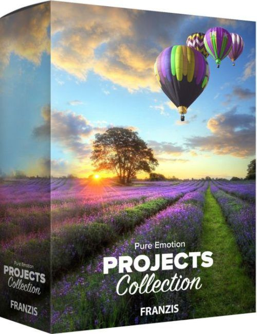 FRANZIS ®Pure Emotion projects Collection